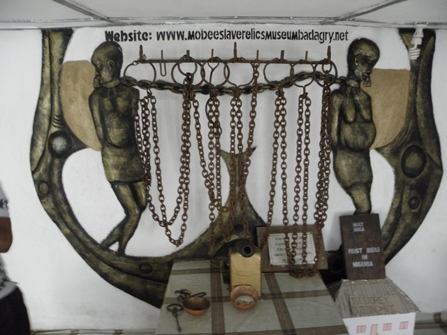 Picture of some Slave relics