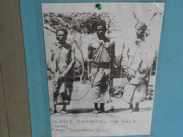 Picture of Slaves exhibited for Sale